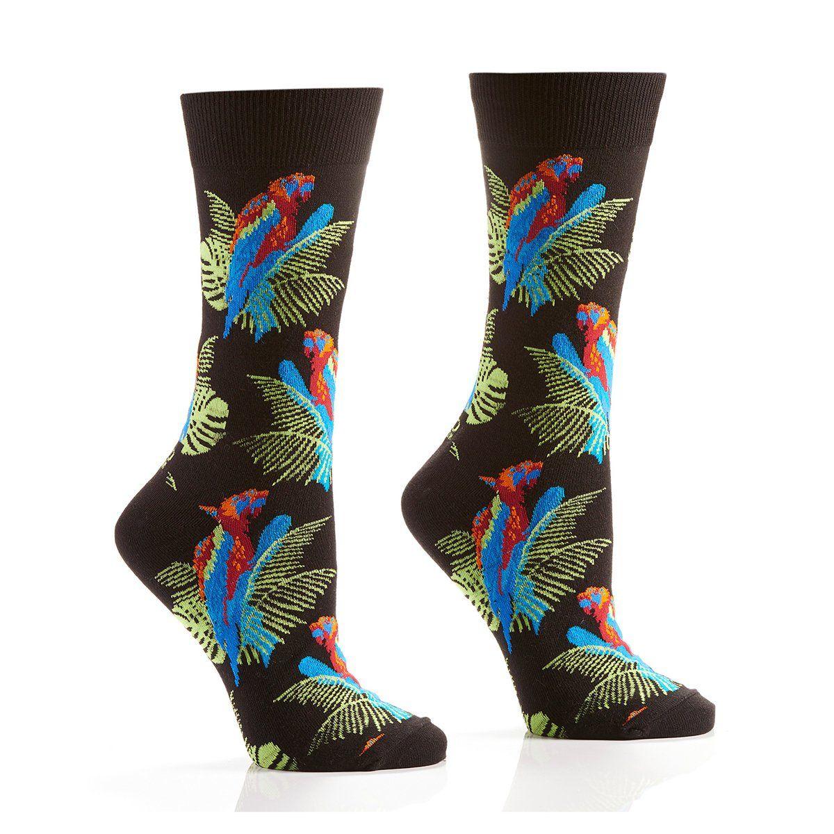 Teal Camo Socks Novelty Crew Socks Size 10-13