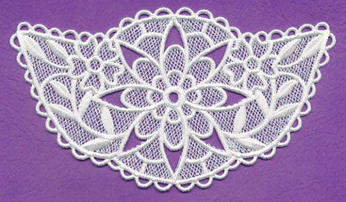 Цветочные Fashions ожерелье (кружева)