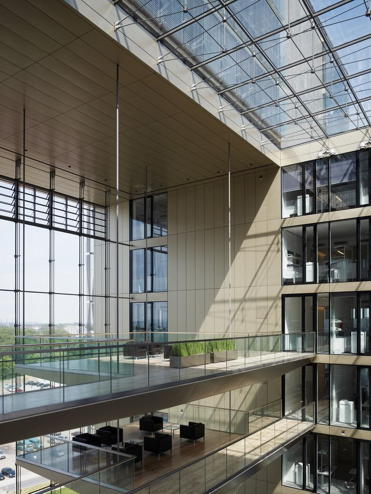Gallery Of Q1 Thyssenkrupp Quarter Essen Jswd Architekten Chaix Morel Et Associes 3 Office Building Architecture Architecture Design Layout Architecture