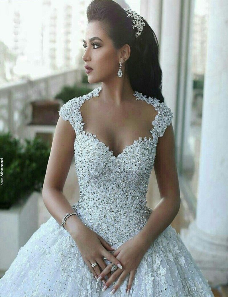 Vestidos De Novia Vintage Lace Wedding Dresses 2017 A Line ...