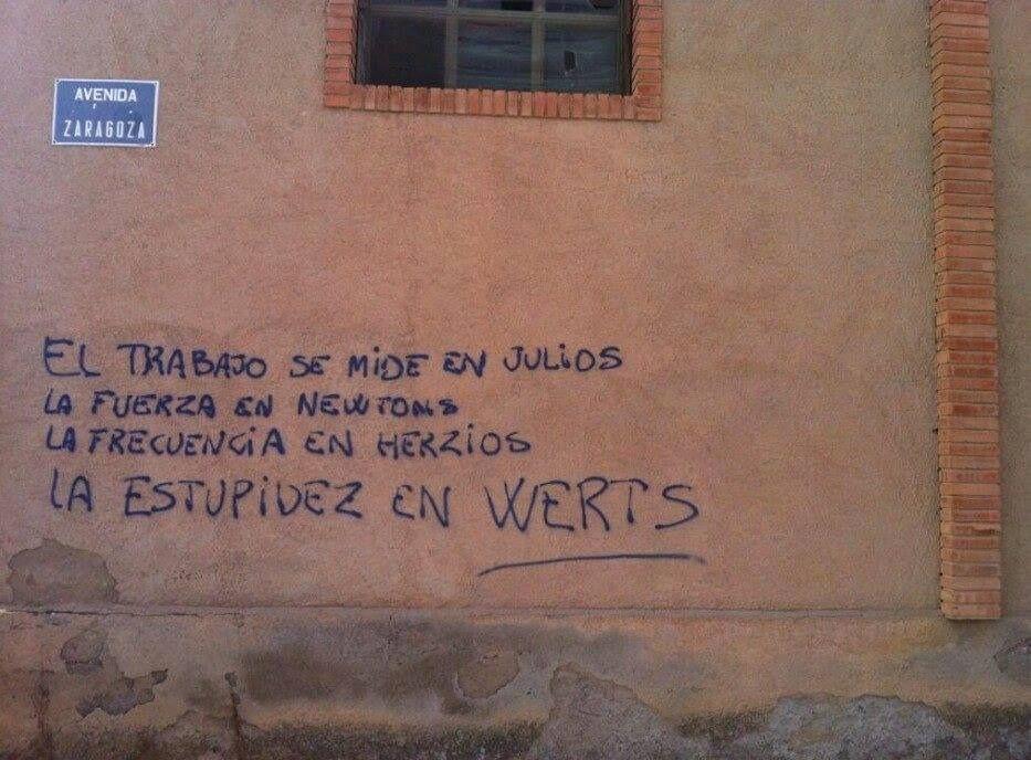 Education is not subjugation | Educar no es imponer  ¿A Wert le dan cuerda por las noches?