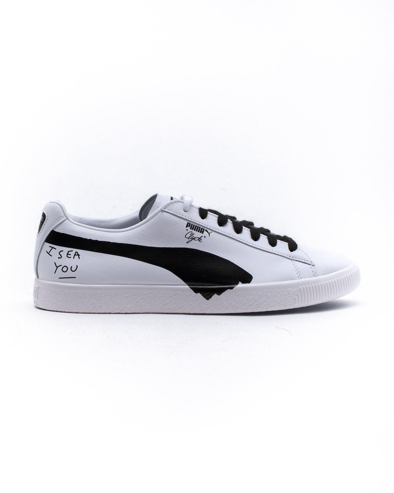 102ccc423745 Puma x Shantell Martin Clyde Sm - Color  Puma White Puma Black ...