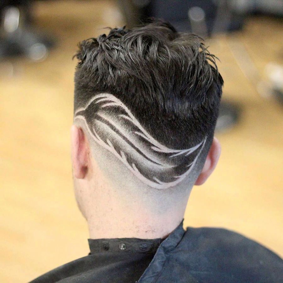 barber hair designs for men - photo #27