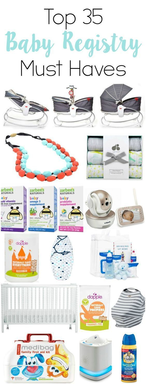 Top 35 Baby Registry Must Haves – Life Anchored – Baby Registry