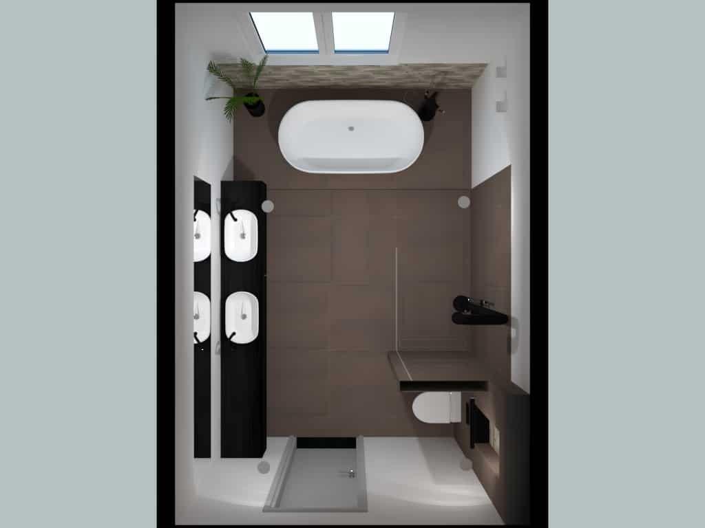 Photo of Bad op verhoging / badkamerontwerp De Eerste Kamer badkamers