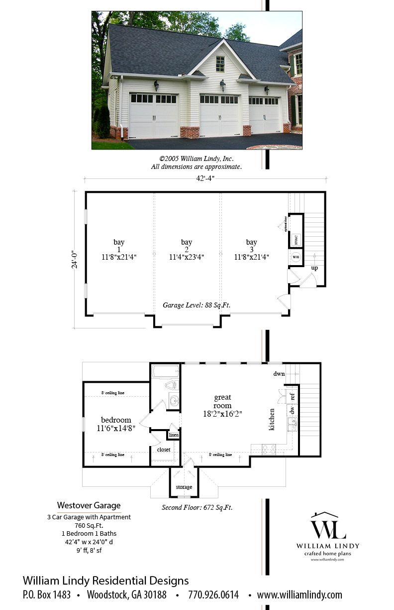 Westover Garage Garage Plans Detached Garage Blueprints Garage House Plans