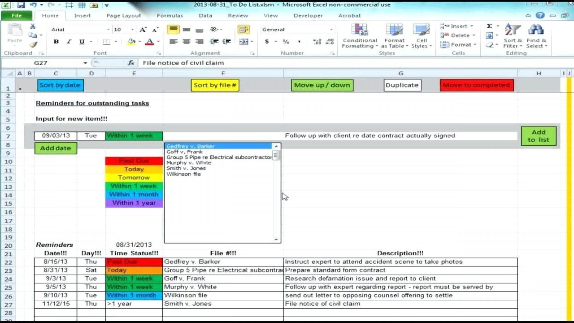 Project Management Spreadsheet Template Excel Spreadsheets