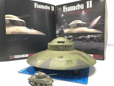 Building The New Squadron Models 172 Haunebu Ii German Wwii Ufo