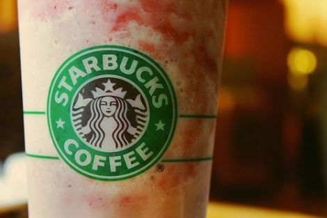 """Again, there are no Vegans. """"Here's a Starbucks order to try out: a Strawberries & Creme Frappuccino with soy milk and a shot of crushed parasitic insects.  Actually, you don't need to order the bugs — they come standard with the drink, in the form of the red dye used to give the frap that special strawberry color.  Yes, the insects are crushed, and yes, they are a commonly used natural food dye. Enjoyed a strawberry PopTart lately? Yeah, those use crushed critters for coloring, too."""""""