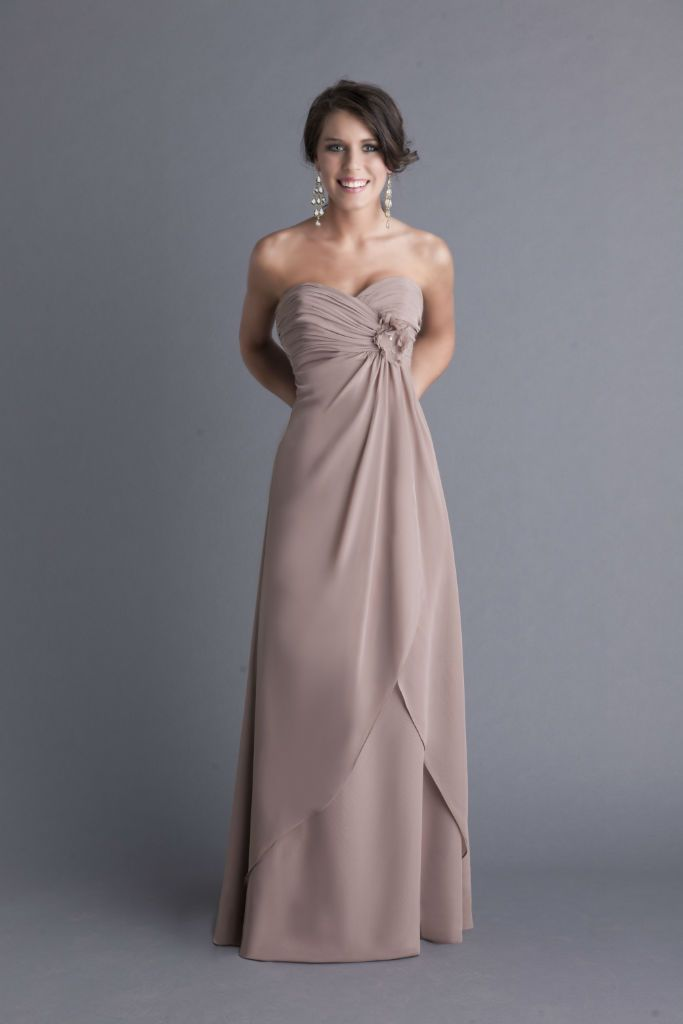 Andrew Adela, Bridesmaid Dress, Style 4061L.   Bride groom ...