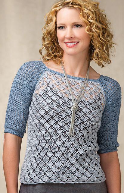 Ravelry: Andi Lace Raglan Sweater pattern by Robyn Chachula | 成人 ...