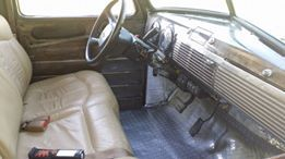 advanced design chevy pickup on a 2003 chevy tahoe frame with second 2003 Chevy Tahoe Z71 advanced design chevy pickup on a 2003 chevy tahoe frame with second row seat and column bare steel and clear coat dash pic 3