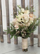 Brautstrauß  Zauberhafte Brautsträuße für jeden Stil, ob sommerlich mit Wies…