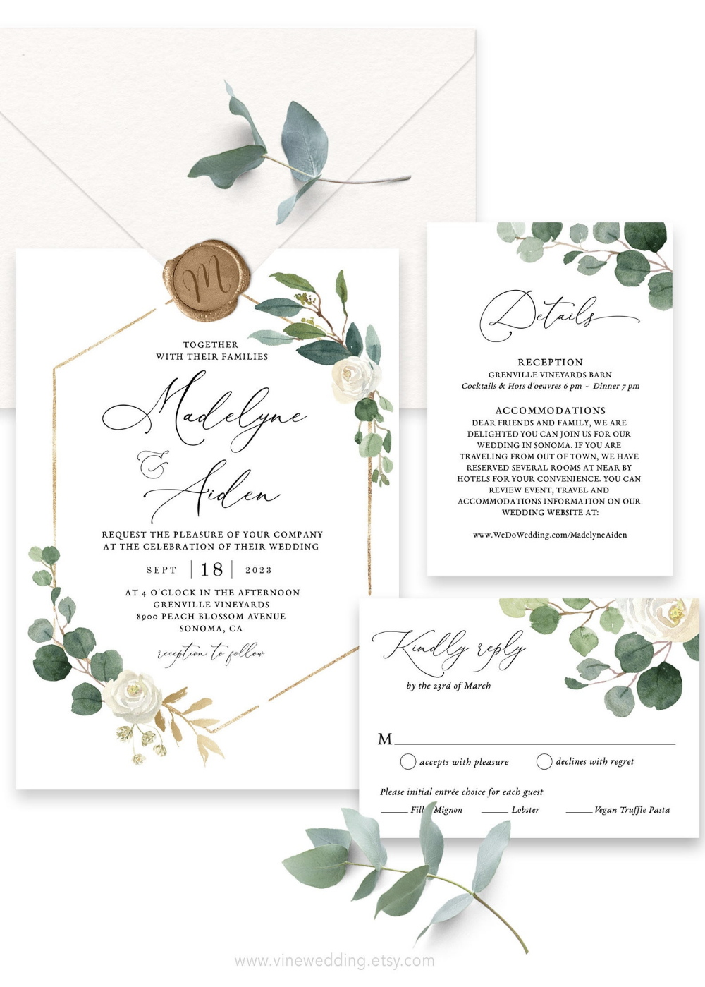 Wedding Invitation Set Printable Wedding Invitation Template Etsy Wedding Invitations Printable Templates Wedding Invitation Sets Wedding Invitation Templates