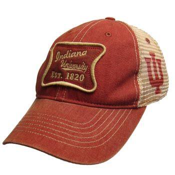 97fda652aaa Legacy® Indiana University Est. 1820 Vintage Adjustable Mesh Hat ...