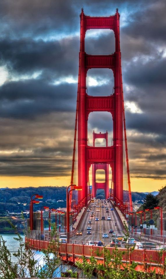 7 Wonders Of The World Golden Gate Bridge Usa