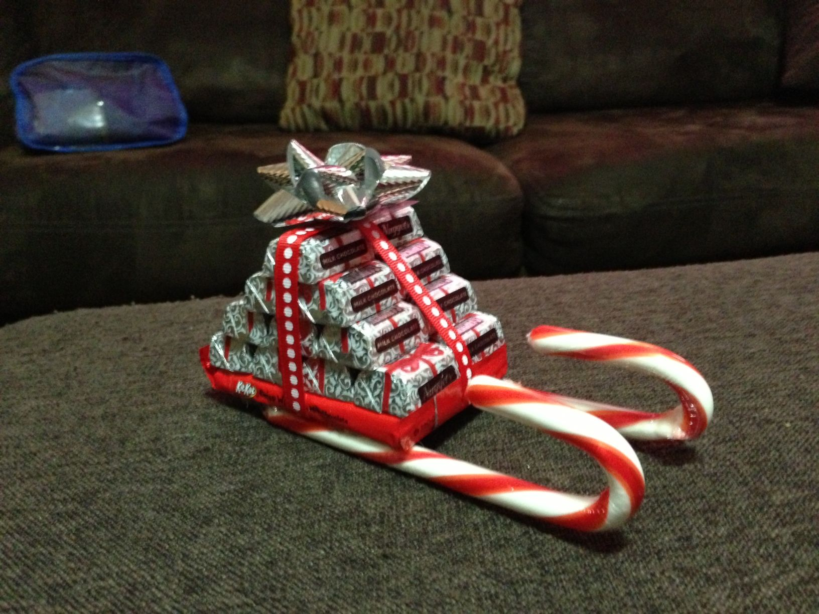 Christmas Ornaments For Kids To Make In School Part - 29: Santau0027s Sleighs Made Out Of Candy! School KidsHomemade ...