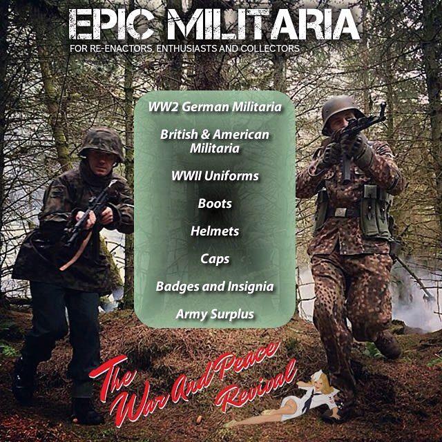 Epic Militaria specialises in WW2 German British and ...