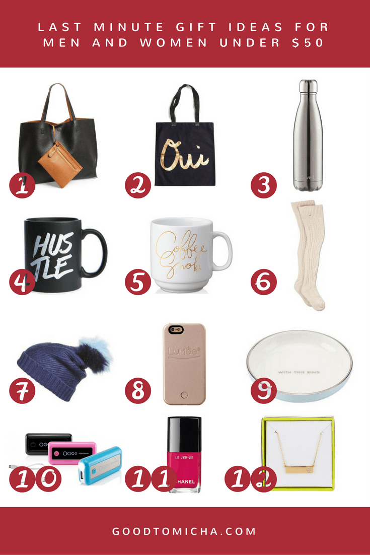 15 easy and affordable last minute gift ideas under $50 | gift
