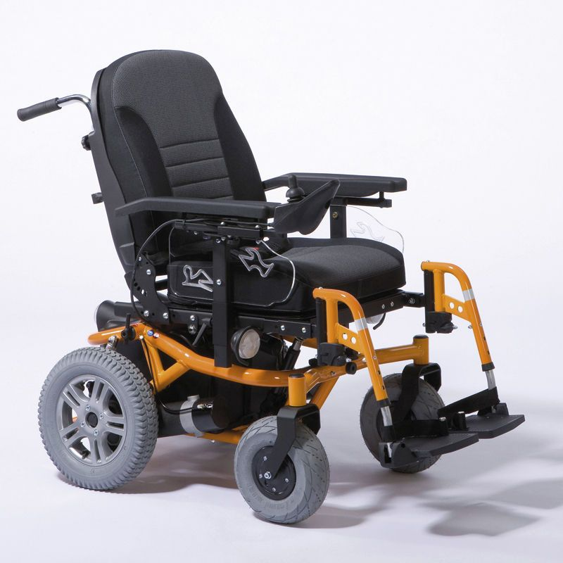 Electric wheelchair buscar con google discapacidad for Joystick per sedia a rotelle
