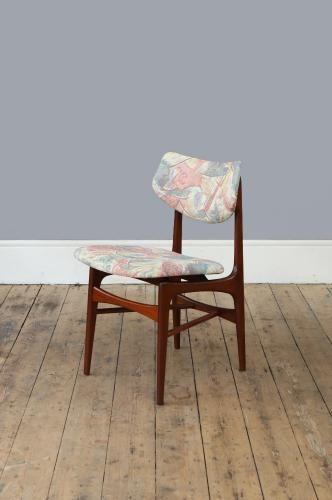 Chaises de Salon par Louis Van Teeffelen, 1960s, Set de 4 en vente - salle a manger louis