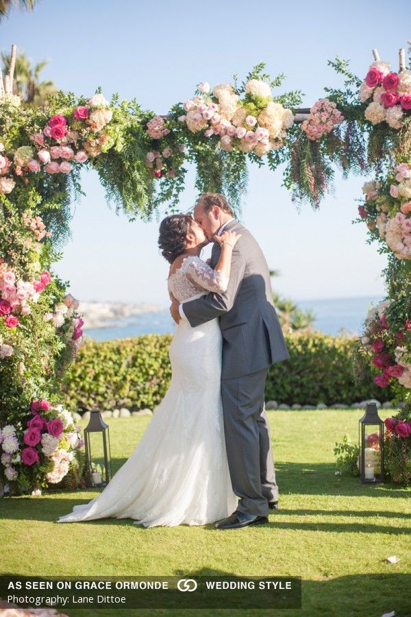 Photos Of A Spring Themed Wedding At Montage Laguna Beach In Laguna