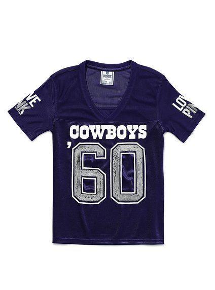 7c71df50 victorias secret pink dallas cowboys jersey