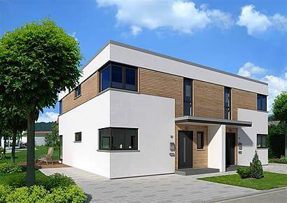 Kubus Dopppelhaus Style at home, Haus und Meisterstück