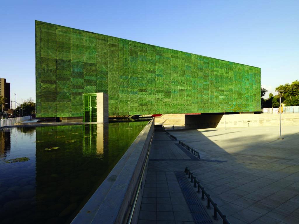 Estudio America - Project - Museo de La Memoria - Image-9- copper facade