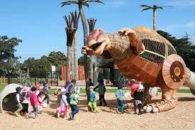 dinosaur playground, Yarraville
