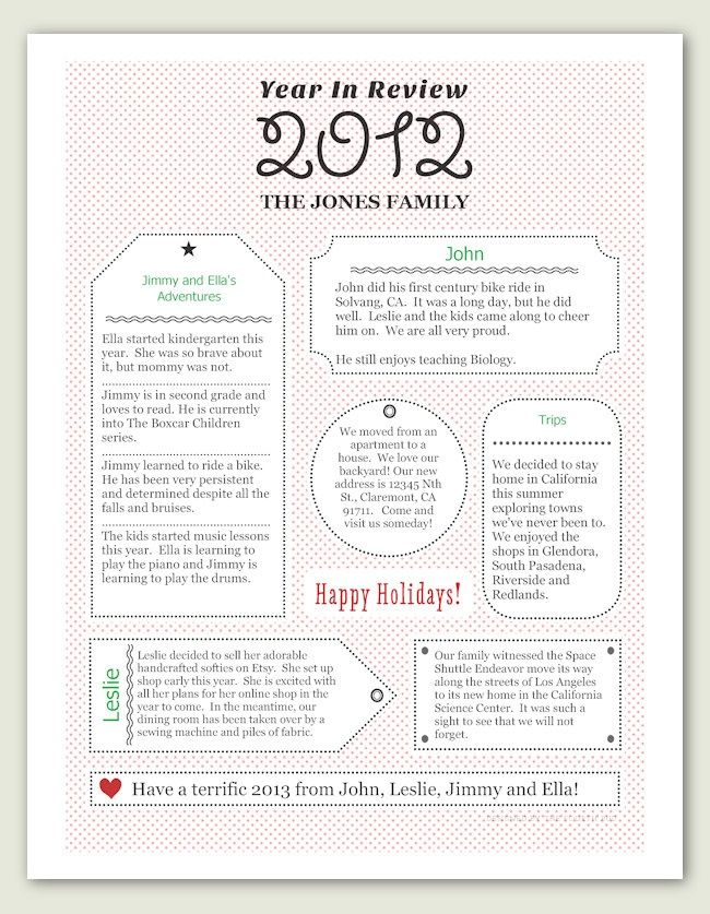 christmas letter ideas templates christmas card letter