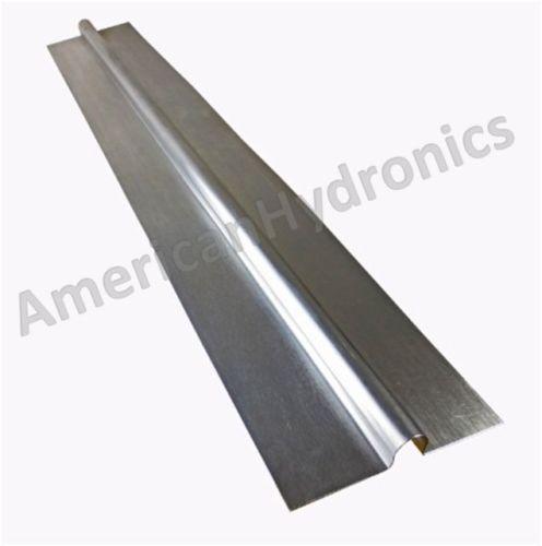 100 2ft Aluminum Radiant Heat Transfer Plates For 1 2 Pex Tubing Made In Usa Radiant Heat Pex Tubing Heat Transfer