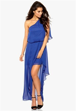 Make Way Devyn Dress Cobolt Blue Bubbleroom.fi