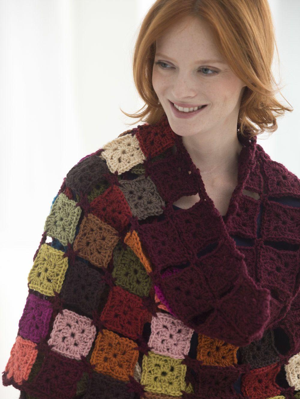 Charming crochet stoles 55