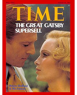 The Great Gatsby in Time Magazine.