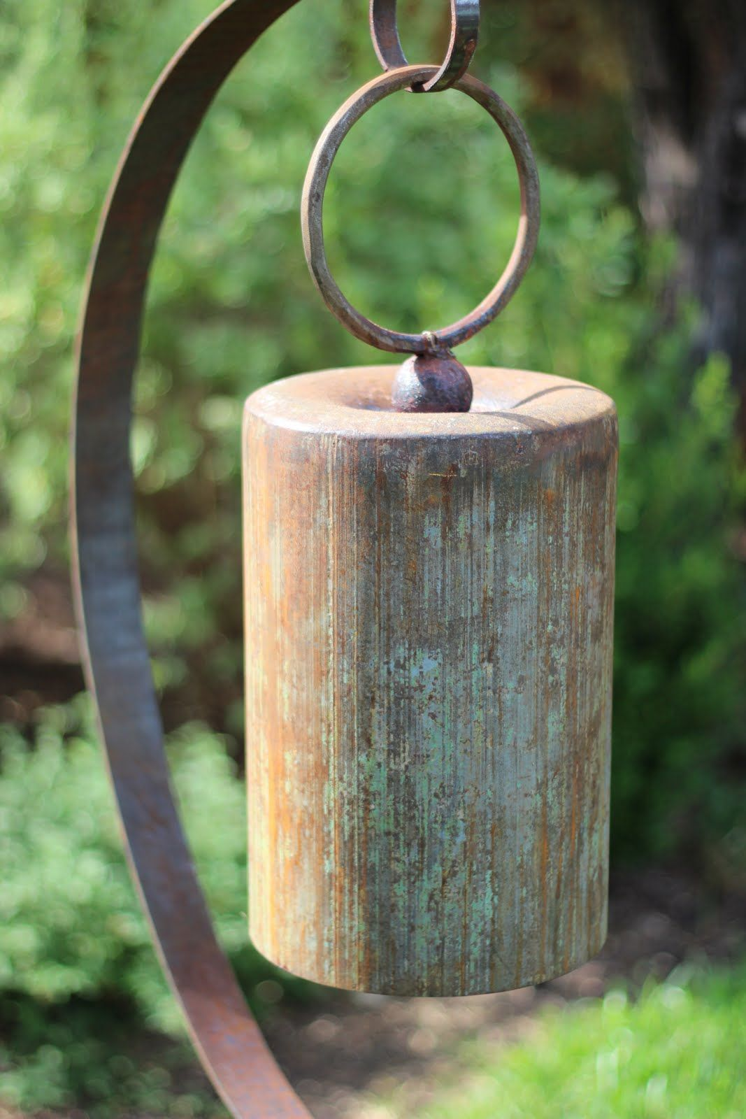 Charmant Large Bell On Stand, I Love These Zen Gardens, Garden Statues, Garden  Ornaments