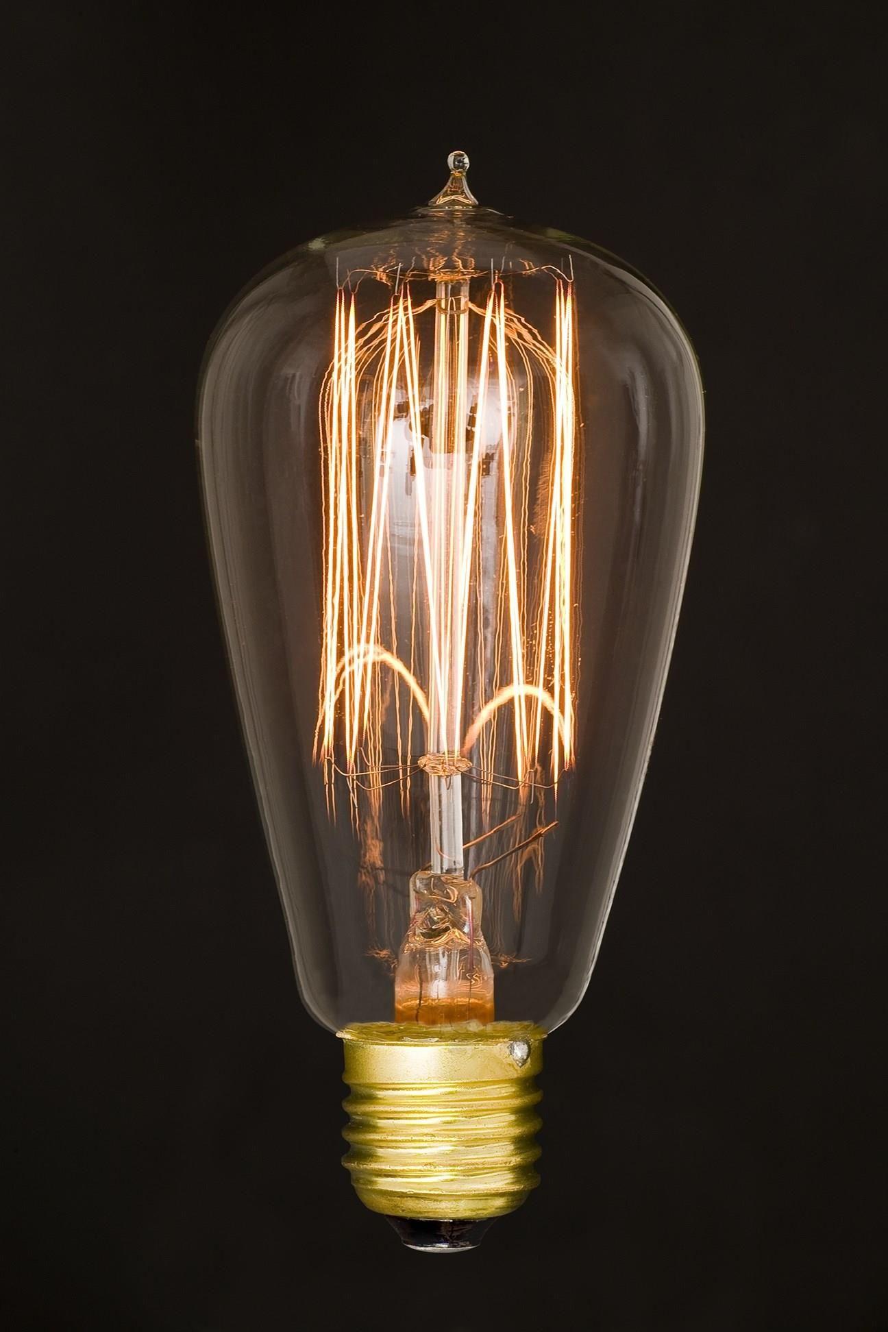 Ozdobna Zarowka Edisona Edison Z Ogonkiem Ceneo Pl Stained Glass Lamps Glass Lamp Edison Light Bulbs