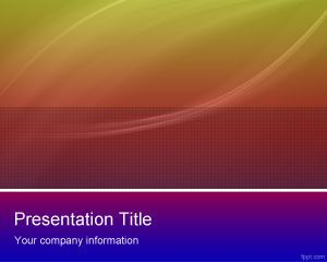 free color scheme powerpoint template is a free background, Modern powerpoint