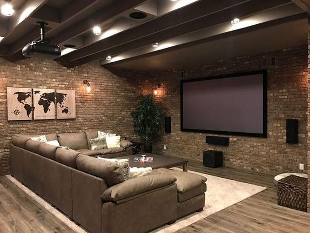Photo of 32 Atemberaubende Keller umgestalten Ideen in ein attraktives Wohnzimmer #mancave Impre …