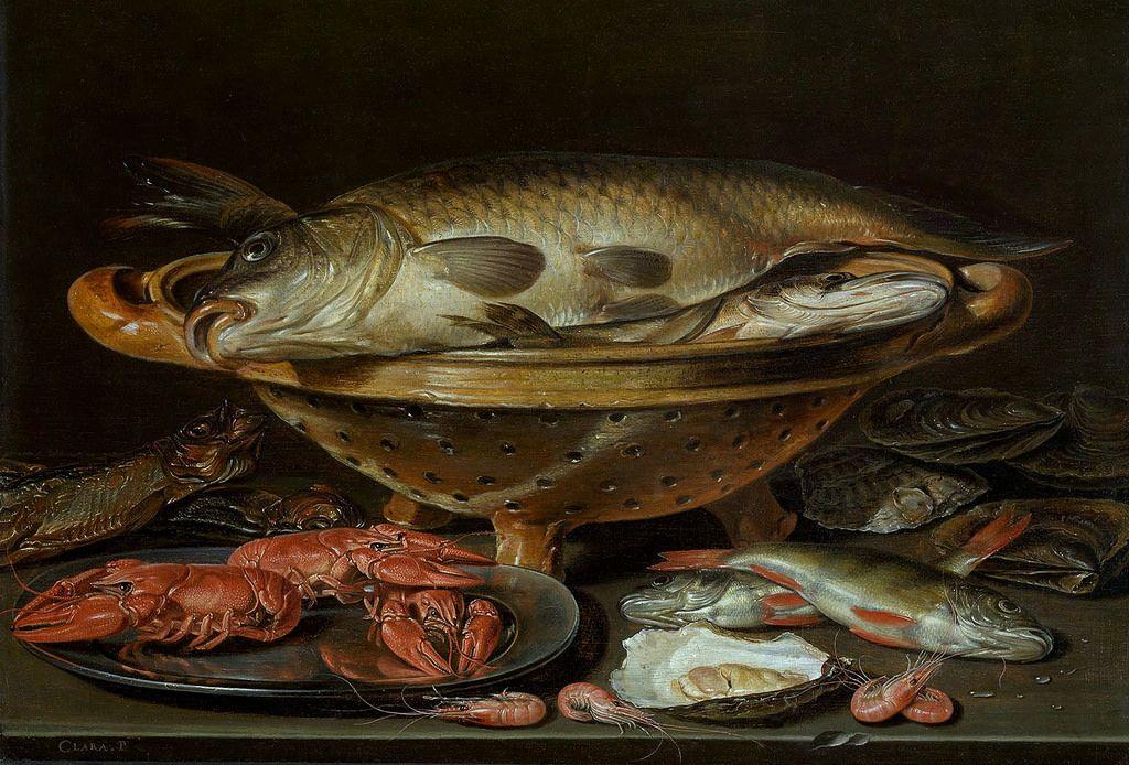 Clara Peeters Stillleben Mit Fisch Still Life With Fish Stillleben Kunst Fische