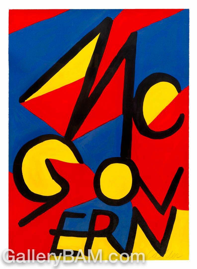 Mcgovern Alexander Calder Alexander Calder Artist Cool Posters