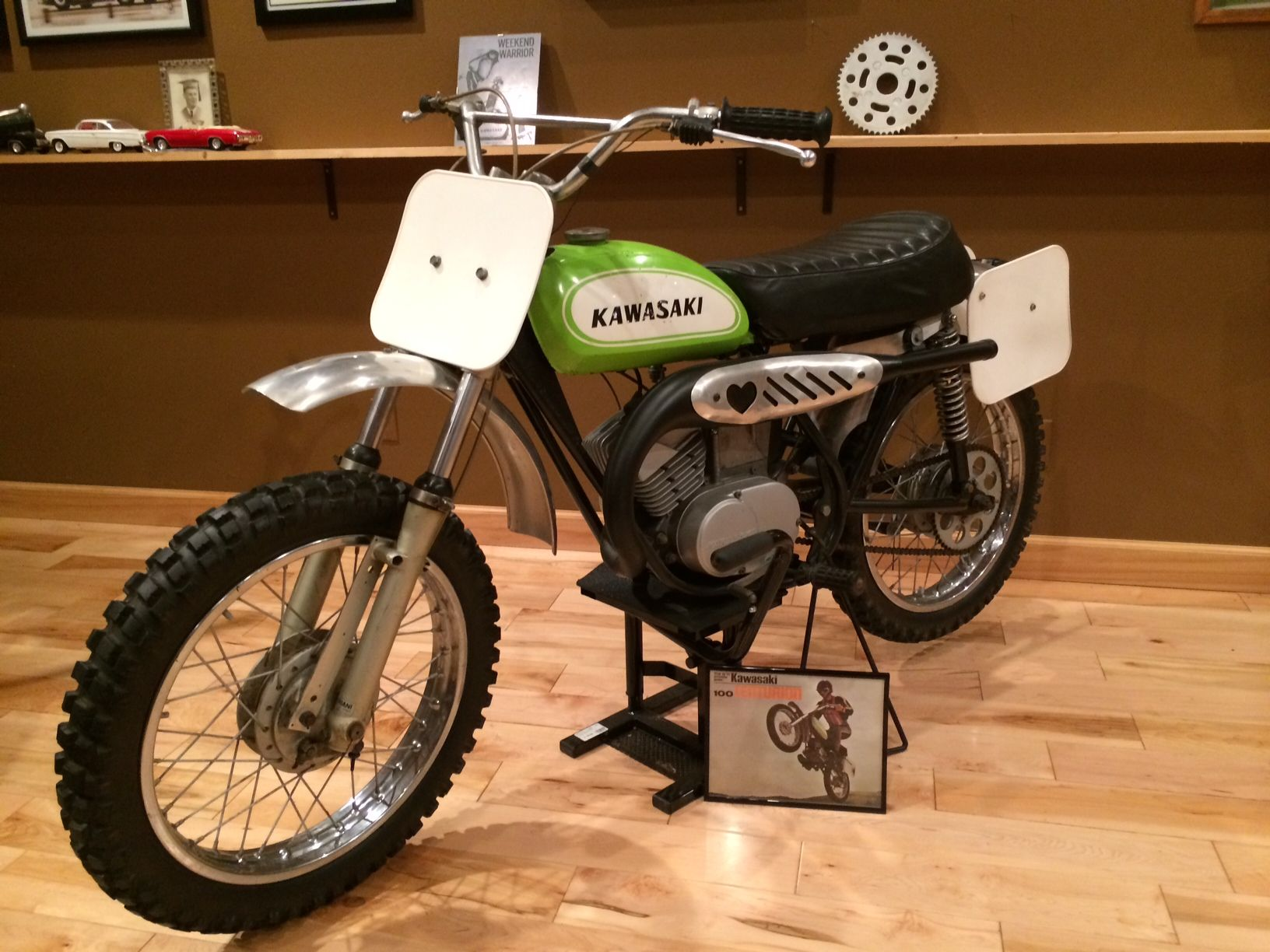 1970 Kawasaki G31m 100 Cc Centurion Japanese Motorcycle Motorcross Racing Motorcycles