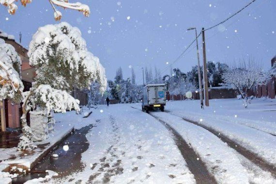 Snowfall Fell in Sahara Desert for the first time in 37 years