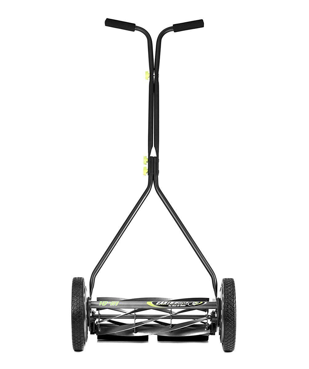 Earthwise 1715 16ew 16 Inch Wide 7 Blade Push Reel Mower For Bent Grass Reel Mower Mower Reel Lawn Mower