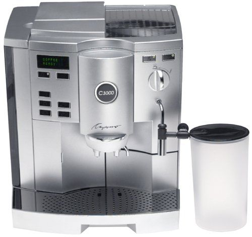 Special Offers - Capresso 153.04 C3000 Automatic Coffee and Espresso Center with Pump-Auto Cappuccino System - In stock & Free Shipping. You can save more money! Check It (April 23 2016 at 02:02PM) >> http://coffeemachineusa.net/capresso-153-04-c3000-automatic-coffee-and-espresso-center-with-pump-auto-cappuccino-system/