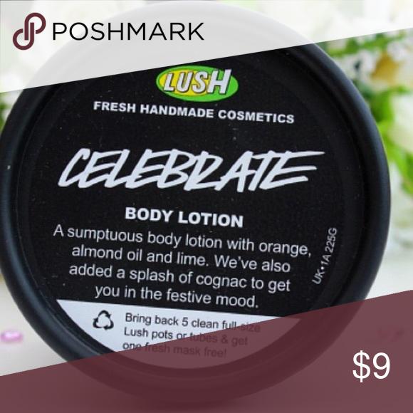 Celebrate Lush Lotion Lotion Lush Lush Fresh