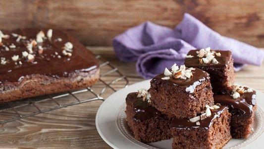 Šťavnatý koláč s čokoládou | Varený-pečený