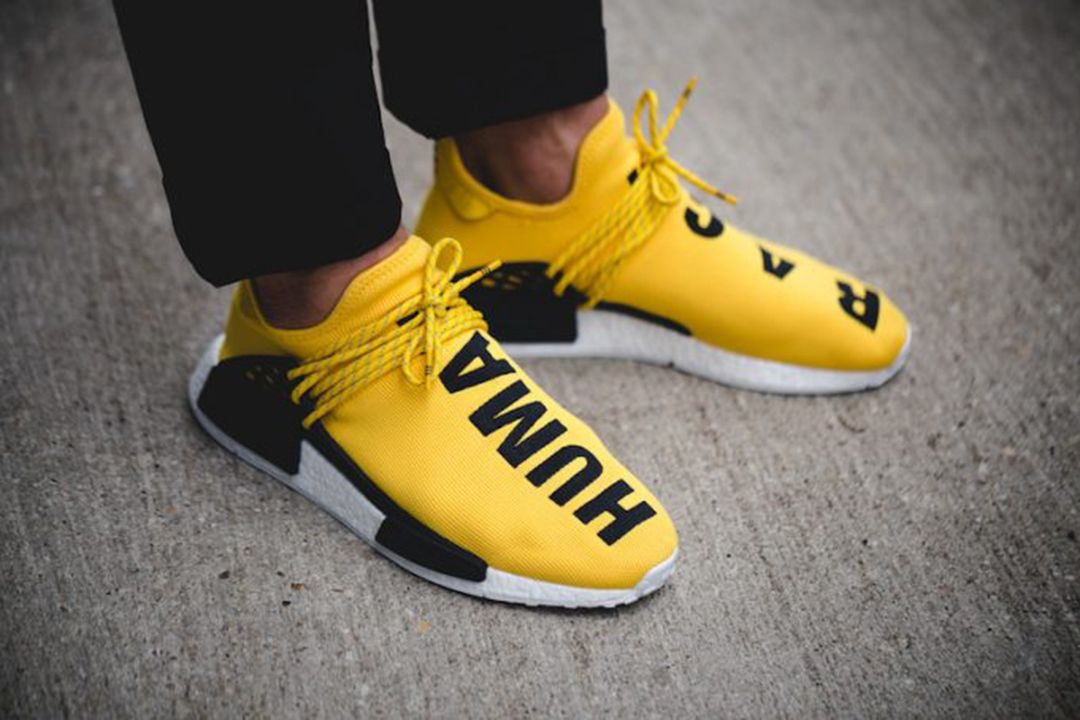 the latest 4aa02 8eca6 Watch out for all the fake Adidas NMD Pharrell Williams Human Races online.  Get a 29 point step-by-step guide on spotting fakes from goVerify before  its ...