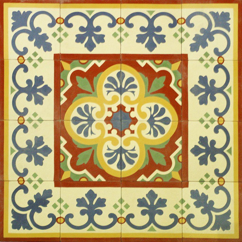 Ladrilho hidr ulico tapetes tiles pinterest ladrilho - Ladrillo hidraulico ...