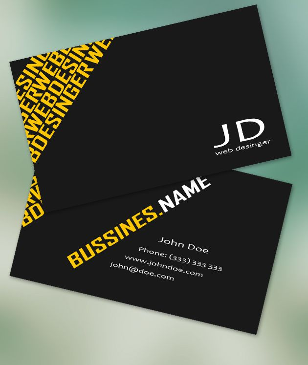 Modern Business Card Design Google Search Graphic Design - Ups business card template